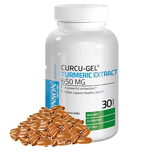 Bronson Vitamins Curcu-Gel Turmeric Extract 650 mg BCM-95...