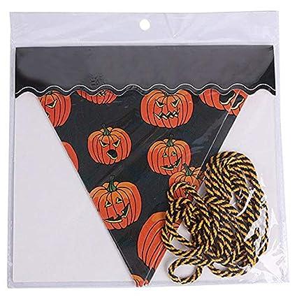 Banners Streamers Confetti 2m Handmade Halloween Fabric