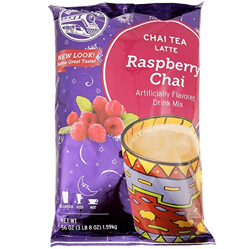 Raspberry Chai Tea - Big Train Raspberry Chai Latte, Two 3.5lb. Bags