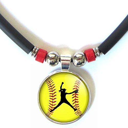 softball pitcher necklace - 8