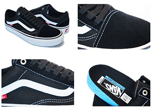 white Vans Adulto Unisex Black U Zapatillas Old Skool qx0qZF