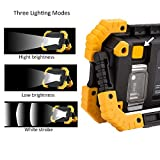 15W Rechargeable LED Work Lights Portable COB