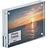 "Clear Acrylic Magnet Photo Frame Block (4x6"") by Nicom®"