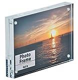 good looking acrylic glass block Nicom Clear Acrylic Magnet Frame (1, 4x6)
