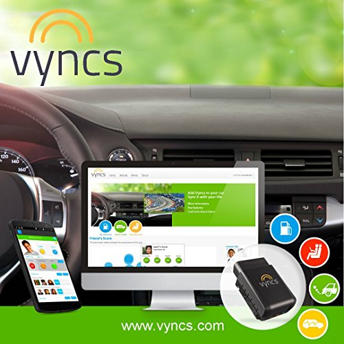 VYNCS Premium: No Monthly Fees GPS Tracker OBD 3G Vehicle GPS Tracking, Teen Driver Safety VPOBDGPS1 by VYNCSPremium (Image #2)