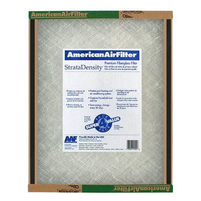 American Air Filter Disposable Panel 16 x 25 x 1 - Case of 12 by American Air Filter