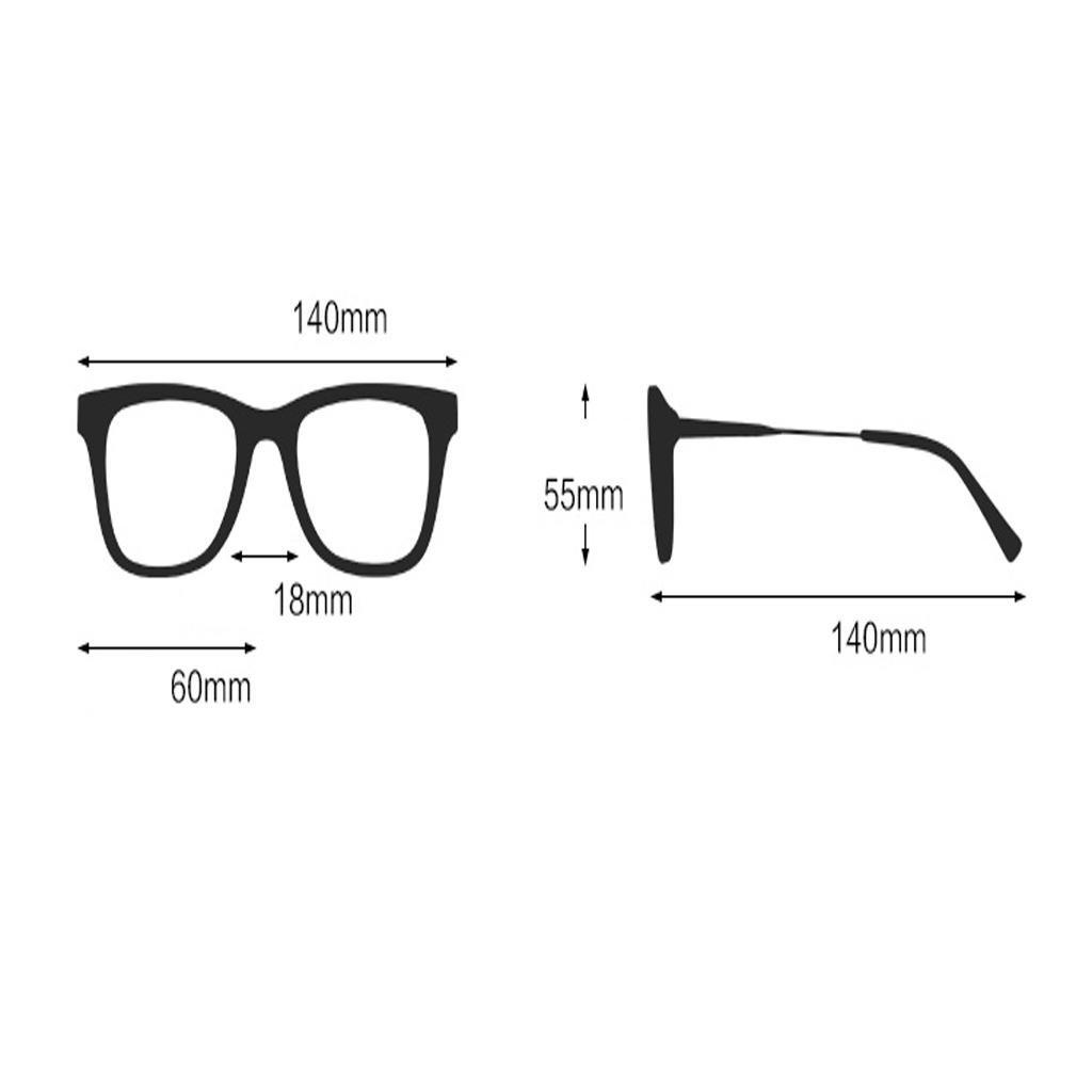 HAOCP /occhiali da sole/grande cornice/occhiali da sole/personalità occhiali rotondi face/Sole, 3
