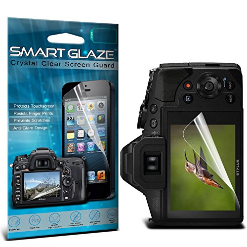 Olympus Silicon Skin (ONX3® Crystal Clear Premium LCD Screen Protectors Packs With Polishing Cloth & Application Card For 3.0