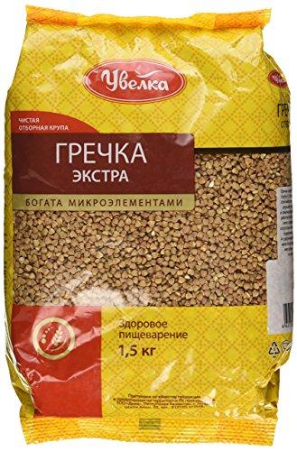 Uvelka Buckwheat Groats Extra Uvelka, 1500 gr - Own Salad