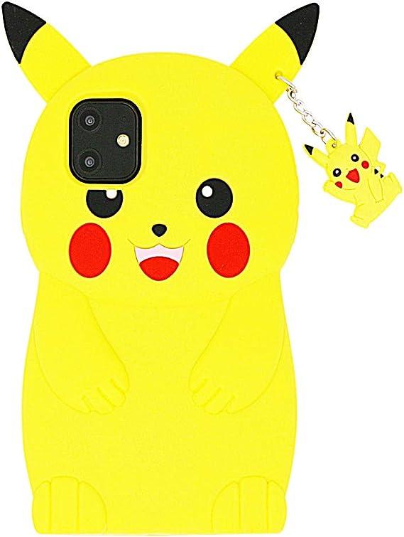Pokemon Pikachu soft drawn cute kawaii foldable scissors with protective case