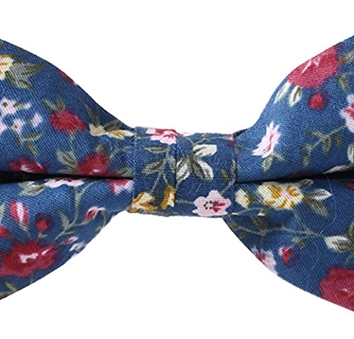 Floral String Panegy Tie Men's Bow Vintage Pattern 5 Tie Cotton gSgwvxqX