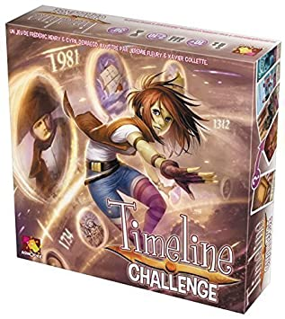 Timeline Challenge Card Game by Asmodee: Amazon.es: Juguetes y juegos