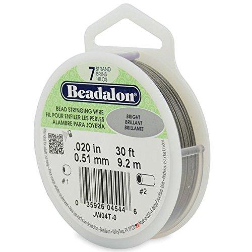 Beadalon - Beadalon 7 Strand Beading Wire .020