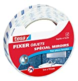tesa Spécial Miroirs'Especially for Mirrors' 55759-00000-00 Adhesive Tape for Mirrors 5 m x 19 mm