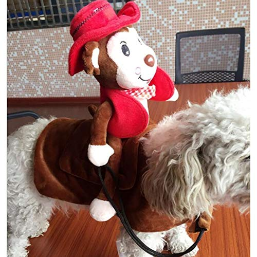 Funny Pet Dog Cat Clothes for Dogs Outfit Knight Style Monkey Fancy Puppy Apparel Jacket Halloween -