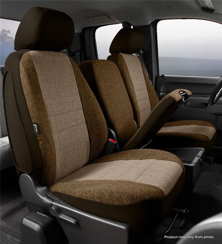 Fia OE39-38 TAUPE Custom Fit Front Seat Cover Split Seat 40/20/40 – Tweed, (Taupe)