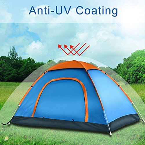 Pop Up Tent by LingAo,Automatic & Instant Setup Lightweight Tent includes Portable Pack for Hiking...
