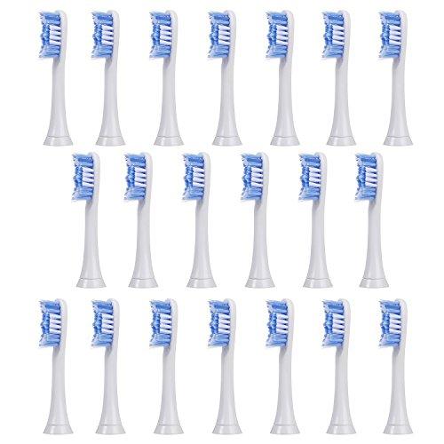20 uds (5x4) de cabezales de recambio para cepillos de dientes E-Cron. Philips Sonicare PowerUp recambios. Totalmente...
