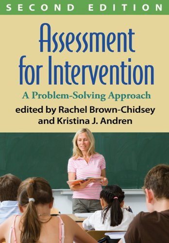 Assessment for Intervention, Second Edition: A Problem-Solving - Kristina Coach