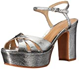 Schutz Women's Keefa Sandal, Prata, 9.5 M US