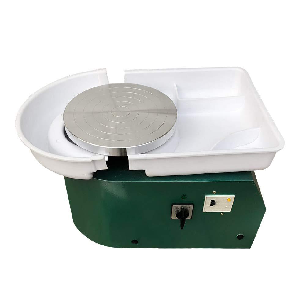 Speed 60~80 RPM Easy Spin Pottery Wheel Machine for Ceramic Clay Creative DIY Art Craft Bespick Electric Pottery Wheel 13cm for Kids Beginners Ceramic Pottery Machine Craft Kits