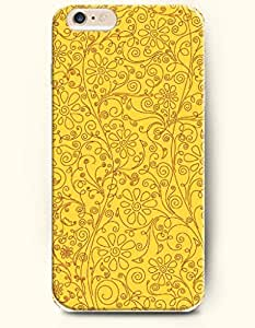 iPhone 6 Plus Case 5.5 Inches Luxuriant Flowers - Hard Back Plastic Case OOFIT Authentic