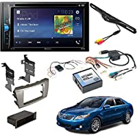 Pioneer AVH-200EX 2-Din 6.2 DVD/CD/iPhone/Android/Bluetooth Receiver TOYOTA CAMRY 2007-2011 AFTERMARKET DASH KIT + JBL SYSTEM AMPLIFIER