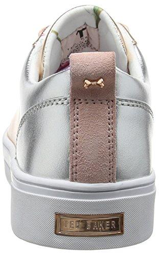Ted Baker Femmes Kulei Lthr Af Rose Or / Argent Sneaker Rose Or
