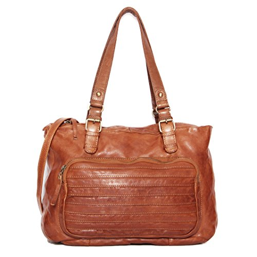 tout minadesign femme Orange Braun Foure Marron de WPqwRApgq