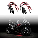 Younar 4 Pcs Resistance Decoder for Motorcycle