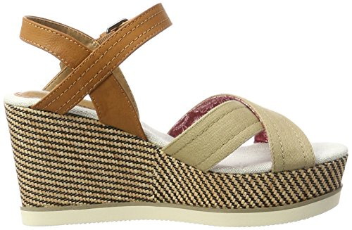 Wrangler Jeena Indigo Cross, Women's Open Toe Sandals Beige (Taupe)