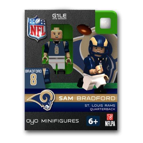 (NFL St. Louis Rams Sam Bradford Figurine)