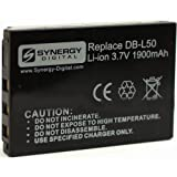 Sanyo Xacti VPC-HD1010 Camcorder Battery Lithium-Ion (3.7v, 1900mAh), - Replacement for Sanyo L50AU