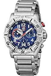 Luminox Dive Chronograph Blue Dial Stainless Steel Mens Watch 8154.RP