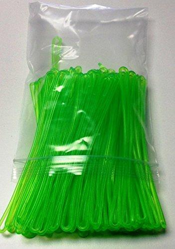 neon-green-plastic-luggage-tag-loops-6-inch-100-pk-aka-worm-loop