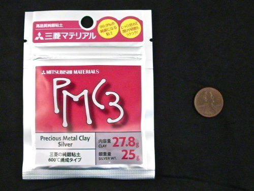 Mitsubishi PMC3 Precious Metal Clay Silver 27.8 - Strongest Ever Metal