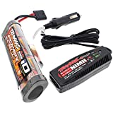 BANDIT VXL BATTERY & ID CHARGER 3000MAH 8.4V 7-CELL HUMP STAMPEDE TRAXXAS 24076-3