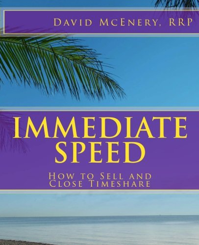 Immediate Speed : How to Sell and Close Timeshare (1460914953 8258592) photo
