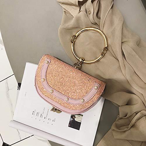 bandoulière nbsp;Tide WSLMHH à épaule Rose Sac Fashion chaîne dITw8Tq