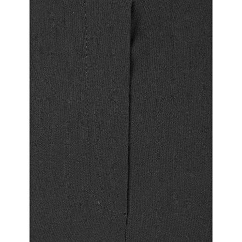 Quiero Marie Robell Mujeres Bengalese Pantalones elasticos conocido de la televisión gris