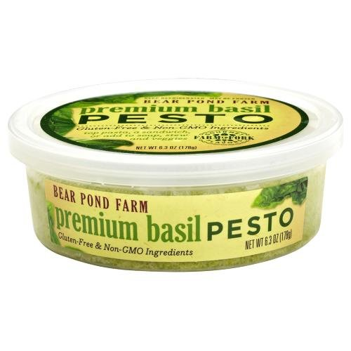 Premium Basil Pesto, 6.3 oz. (4 pack) made in New England