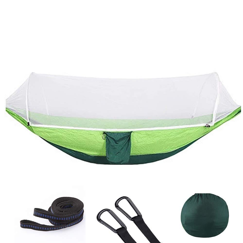 10hammock 290140cm YLOVOW Toile de Tente Ultra-légère et imperméable pour hamac portable, Camping, hamac de Camping avec Moustique en Plein air, hamac de Voyage pour 2 Personnes