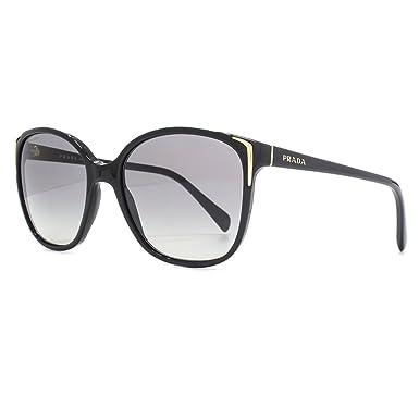 Prada Lunettes de soleil Square casual en noir PR 01OS 1AB3M1 55 55  Gradient Grey  Amazon.fr  Vêtements et accessoires b0f87e085db