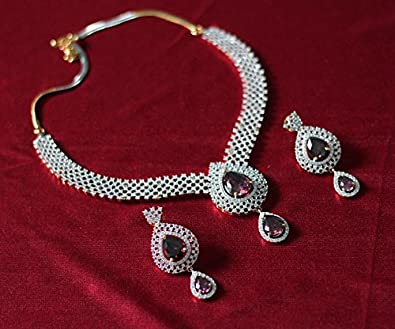 boutique set online india buy mira in necklace prices zircon at amazon dp low