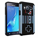 Cheap J7 Case, DURARMOR SAMSUNG GALAXY J7 (BOOST,VIRGIN,TMOBILE,METRO PCS) Vintage Nintendo NES Game Controller Slim Fit Armor Ultimate Drop Protection Cover for Galaxy J7 J700 2015