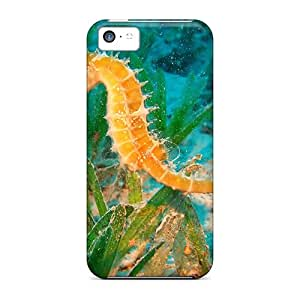 High-quality Durable Protection Case For Iphone 5c(beautiful Underwater Seahorse)