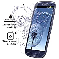 Galaxy S3 Screen Protector - KATIN [2-Pack] Samsung Galaxy S3 III i9300 Premium 9H Tempered Glass 2.5D Round Edge , 3D Touch Compatible with Lifetime Replacement Warranty from KATIN