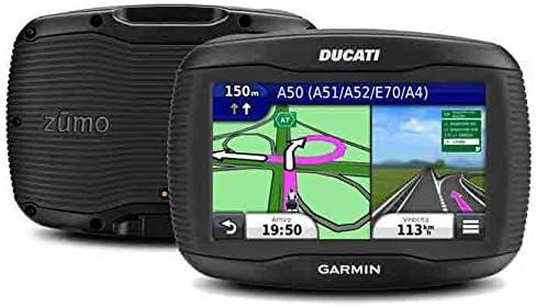 Garmin Zūmo 390lm Version Ducati Navigator Motorrad Wasserdicht Ipx7 Mit Bildschirm 4 3 Karte Europa Komplett Und Karten Update Zu Leben Navigation
