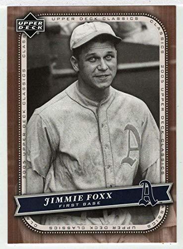 Jimmie Foxx (Baseball Card) 2005 Upper Deck Classics # 23 NM/MT ()