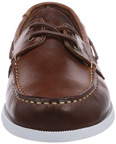 Sioux Paoro - Náuticos de cuero hombre Marrón - marrón (Cognac)
